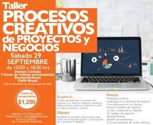 Procesos creativos de proyectos y negocios